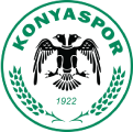 Konyaspor's team badge