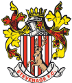 Stevenage's team badge