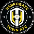 Harrogate Town's team badge