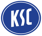 Karlsruher SC's team badge