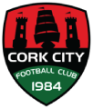 Cork City FC's team badge