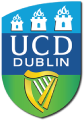 University College Dublin's team badge