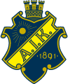 AIK's team badge