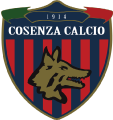 Cosenza Calcio's team badge