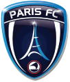 Paris FC's team badge