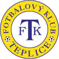 FK Teplice's team badge