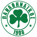Panathinaikos's team badge