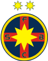 Steaua Bucharest's team badge