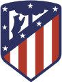 Atletico de Madrid's team badge