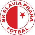 Slavia Prague's team badge