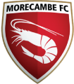 Morecambe's team badge