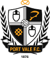 Port Vale's team badge