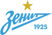 Zenit St Petersburg's team badge