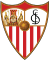 Sevilla's team badge
