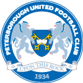 Peterborough United's team badge