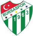 Bursaspor's team badge