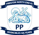 Preston North End's team badge