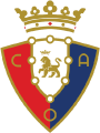 Osasuna's team badge
