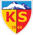 Kayserispor's team badge