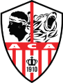Ajaccio's team badge
