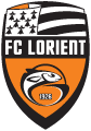 Lorient's team badge