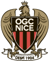 Nice's team badge