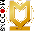 MK Dons's team badge