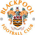 Blackpool's team badge