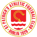 St Patrick's Athletic's team badge