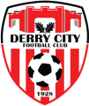 Derry City's team badge