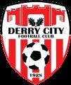 Derry City's team badge