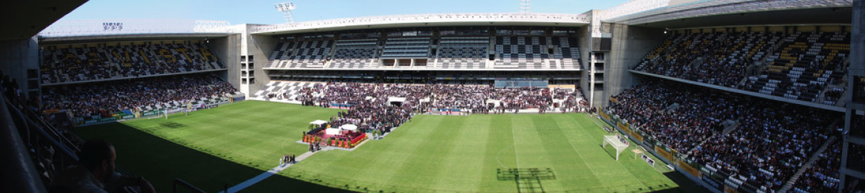 Estadio Do Bessa Xxi stadium where Boavista  play football in the
