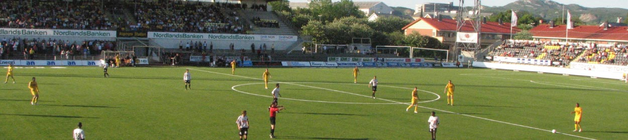 stadium where Bodø/Glimt play football in the
