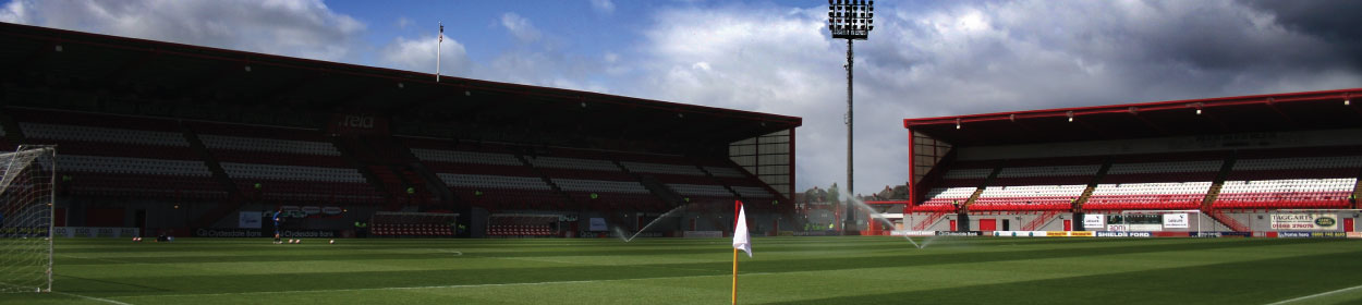 stadium where Hamilton Academical play football in the