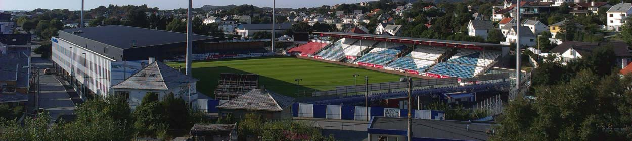 stadium where Haugesund play football in the
