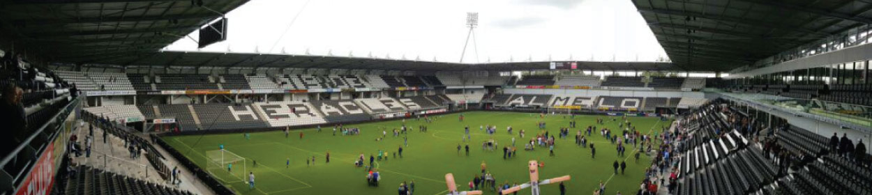 stadium where Heracles Almelo play football in the