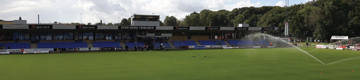 stadium where Hobro play football in the