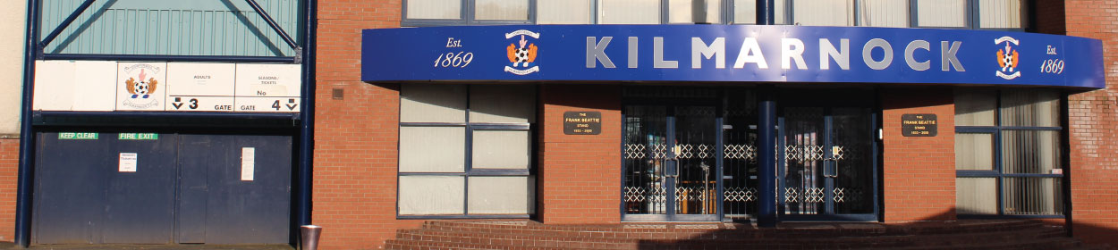 stadium where Kilmarnock play football in the
