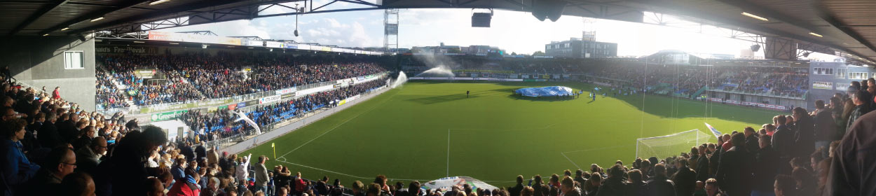 stadium where PEC Zwolle play football in the Eredivisie