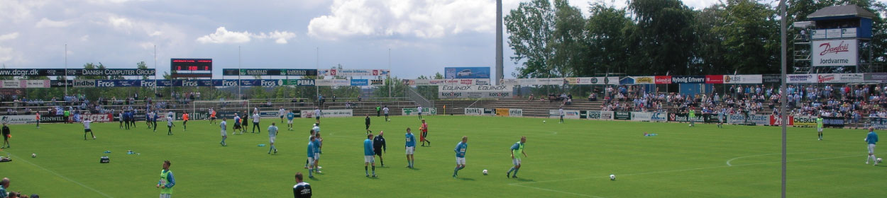 stadium where Sonderjyske play football in the