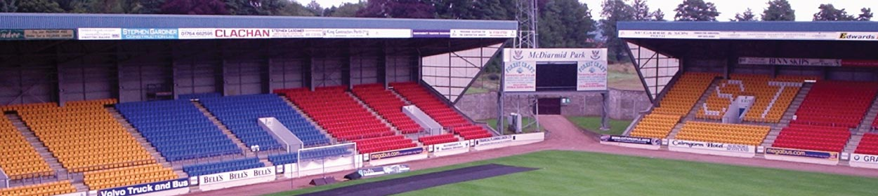 stadium where St Johnstone play football in the Scottish Premier League