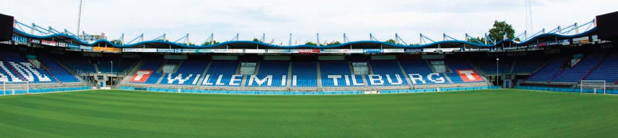 stadium where Willem II play football in the