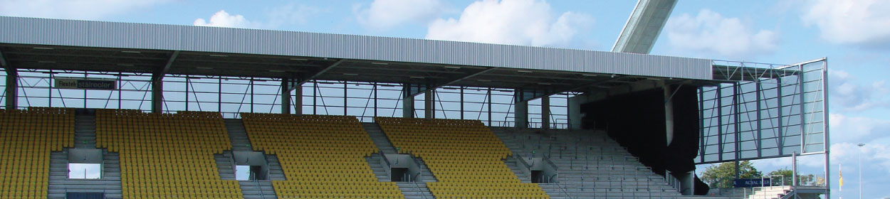 stadium where Horsens play football in the Superligaen