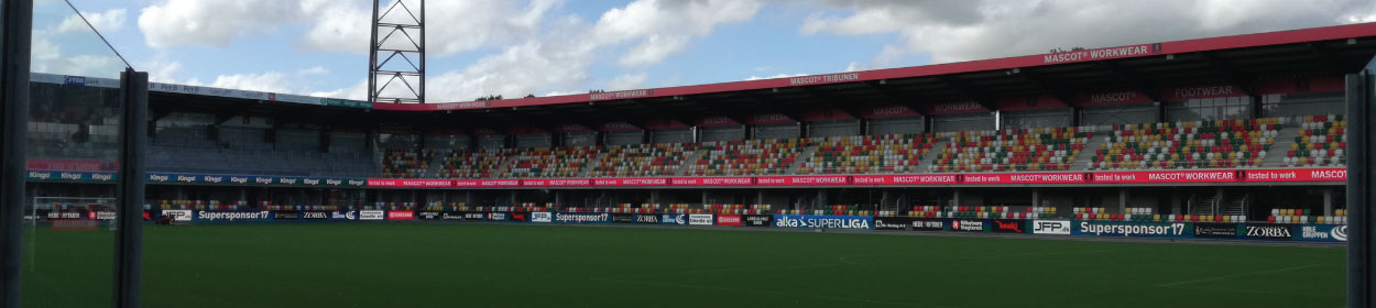 stadium where Silkeborg IF play football in the