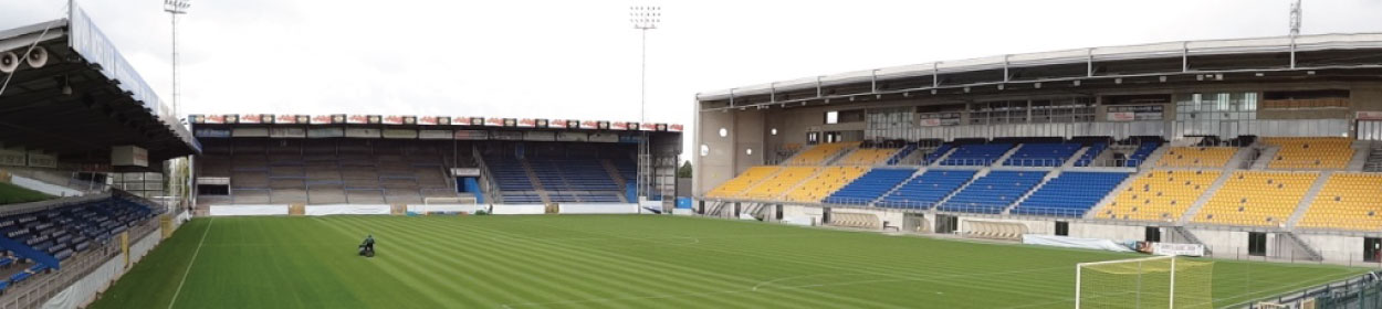 stadium where Waasland-Beveren play football in the