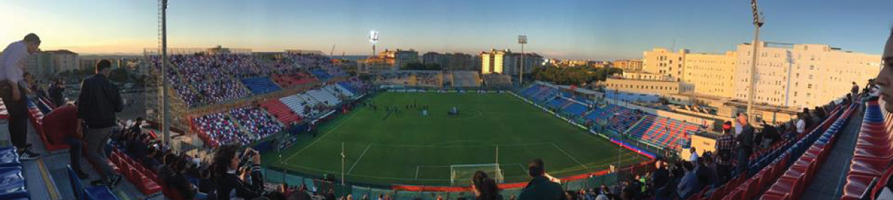 Ezio Scida stadium where Crotone play football in the