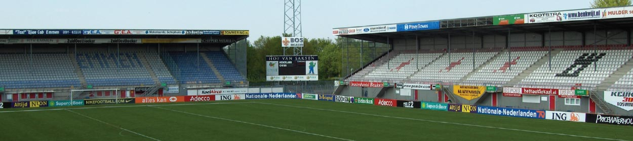 stadium where FC Emmen play football in the
