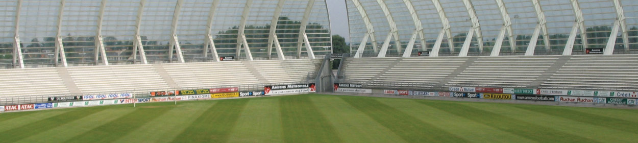 Stade de la Licorne stadium where Amiens play football in the