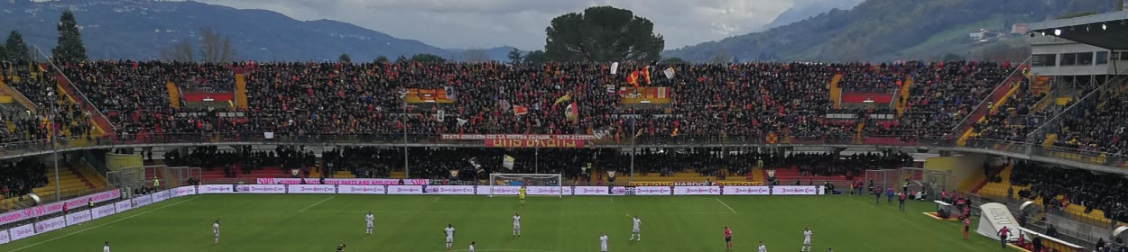 Ciro Vigorito stadium where Benevento play football in the