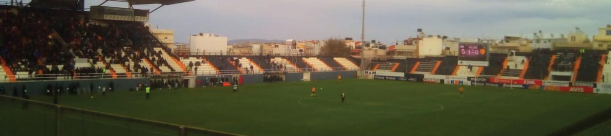 stadium where OFI Crete FC play football in the